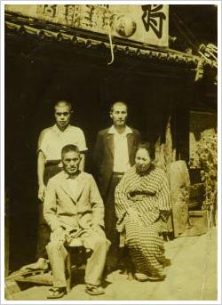 昭和初期の店舗 職人と共に